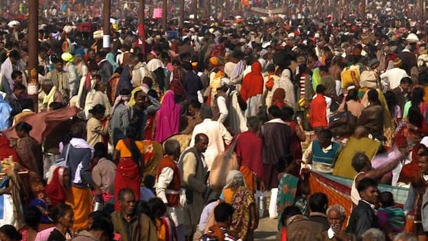 Moved by a shared faith, millions flocked to wash away their sins on the luckiest day of Hinduism's biggest festival.