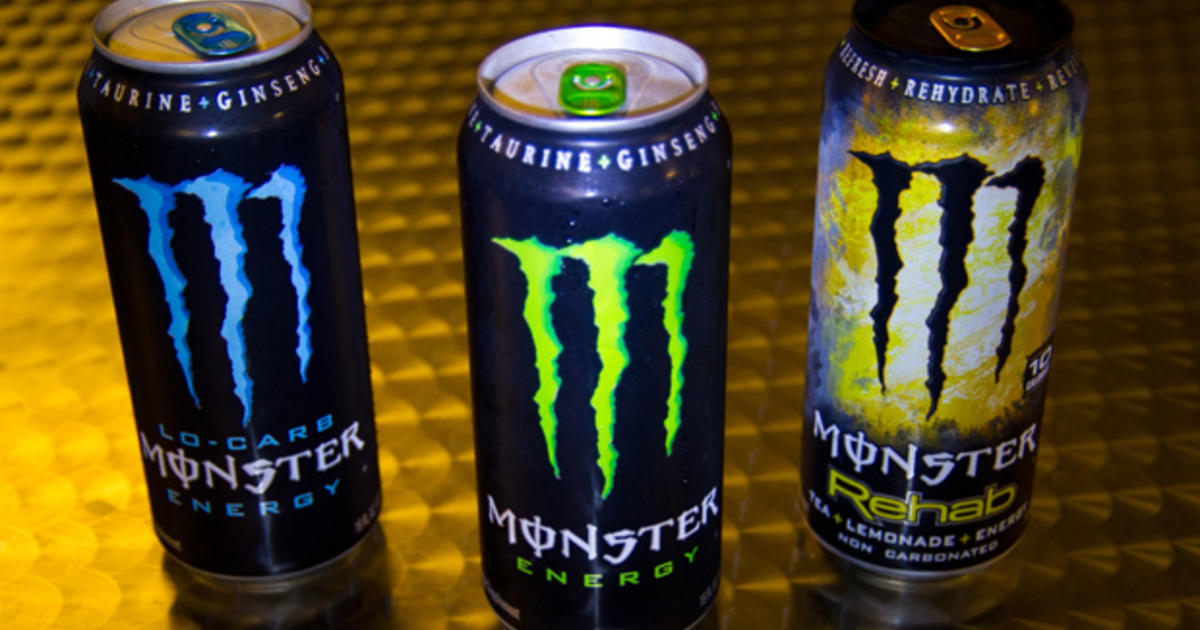 Prosecutors Take Aim At Quot Monster Quot Energy Drinks Cbs News
