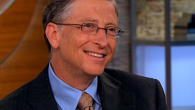"Microsoft chairman Bill Gates on ""CBS This Morning."""