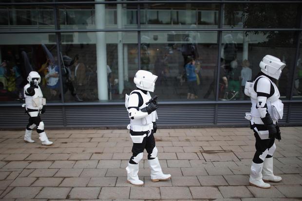 Comic Con U.K. 2013