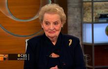 Madeleine Albright: Iran sanctions working