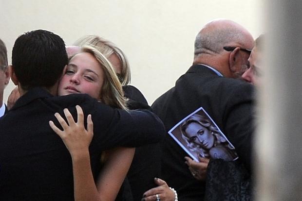 Reeva Steenkamp's funeral
