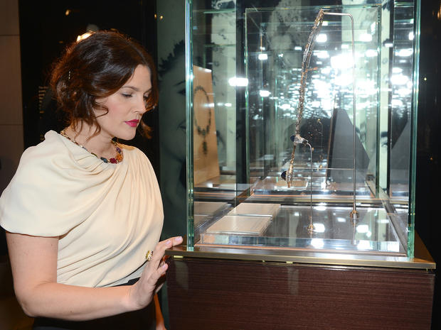 Stars celebrate Elizabeth Taylor's jewelry