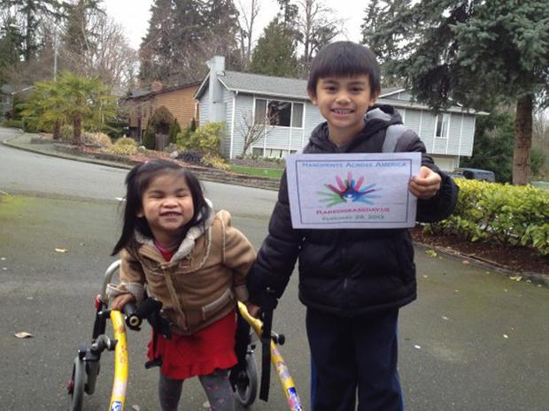 Rare Disease Day: Handprints across America