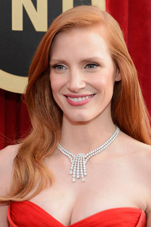Red carpet jewelry