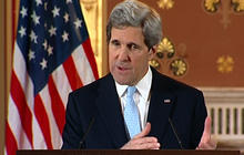"Kerry to Syrian opposition: ""Join us"" in Rome talks"