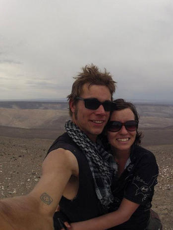 Calif. couple missing in Peru