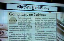 Women shouldn't bother with calcium supplements: Panel