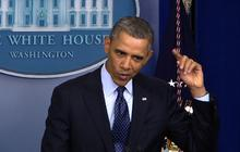 """Obama: Some Republicans """"paint horns on my head"""""""