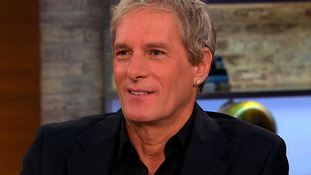 """Michael Bolton on """"CBS This Morning."""""""