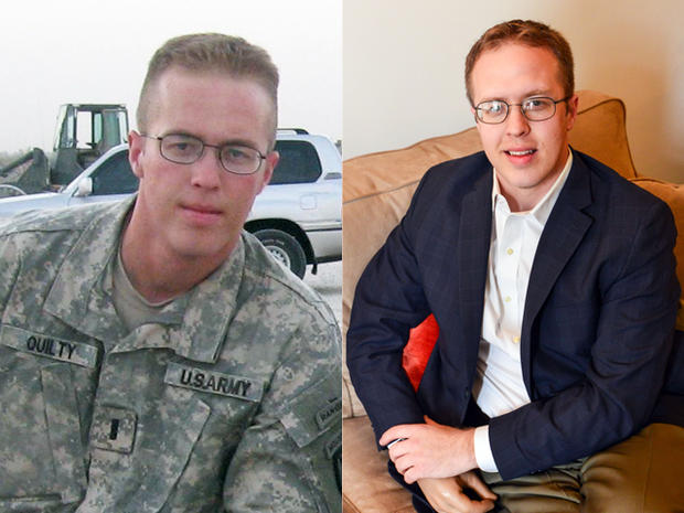 Scott Quilty, during and after his deployment