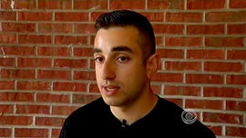 Arabo Babakhani, 24, described his encounter with his gun-yielding roommate and call to 911.