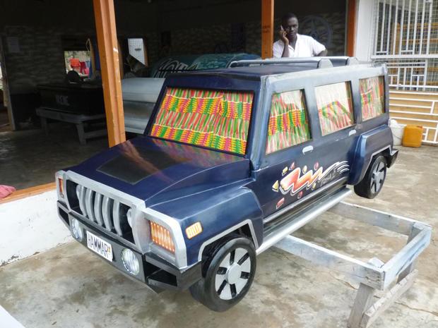 Artful caskets of Ghana