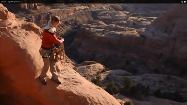 Man Killed Attempting Famous Utah Rope Swing Cbs News
