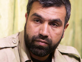 Syrian rebel commander Jamal Maarouf