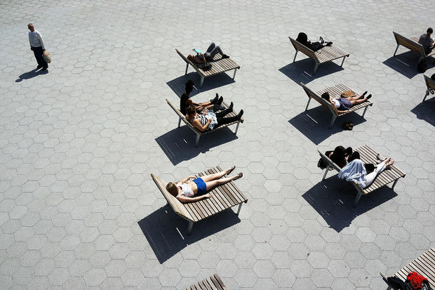 New York gets a taste of summer