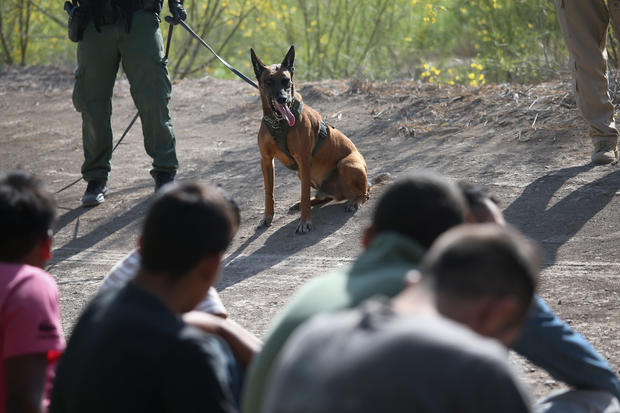 Drama on the U.S.-Mexico border