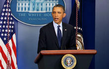 "Obama on Boston bombings: ""We don't know who did this or why"""