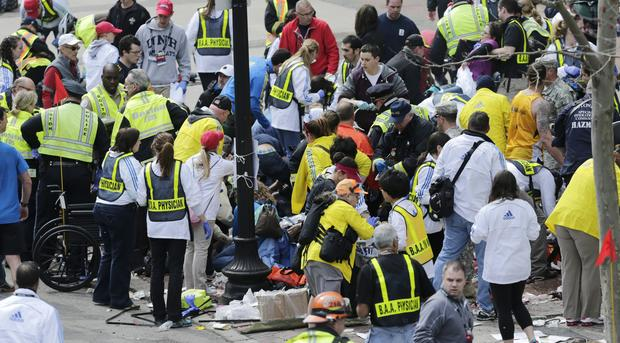 Deadly explosions at Boston Marathon