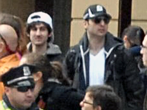 Boston Marathon bombing suspects