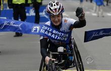 London marathoner running for Boston