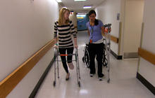 Dancer loses foot, not hope, after Boston bombings