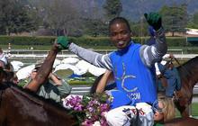 African American jockey eyes Derby win
