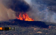 Calif. wildfires: Thousands of acres burn, hundreds evacuate