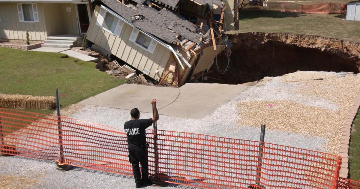 Sinkholes The Hole Truth Cbs News