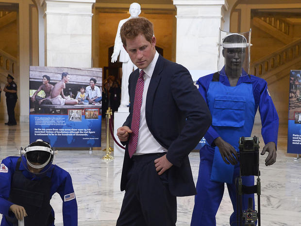 Prince Harry in Washington