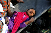 Miracle rescue from rubble of Bangladesh factory