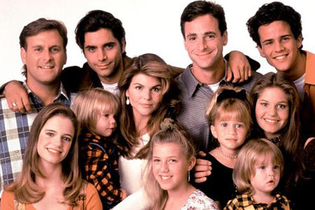 Full House Fuller House Then And Now Pictures Cbs News