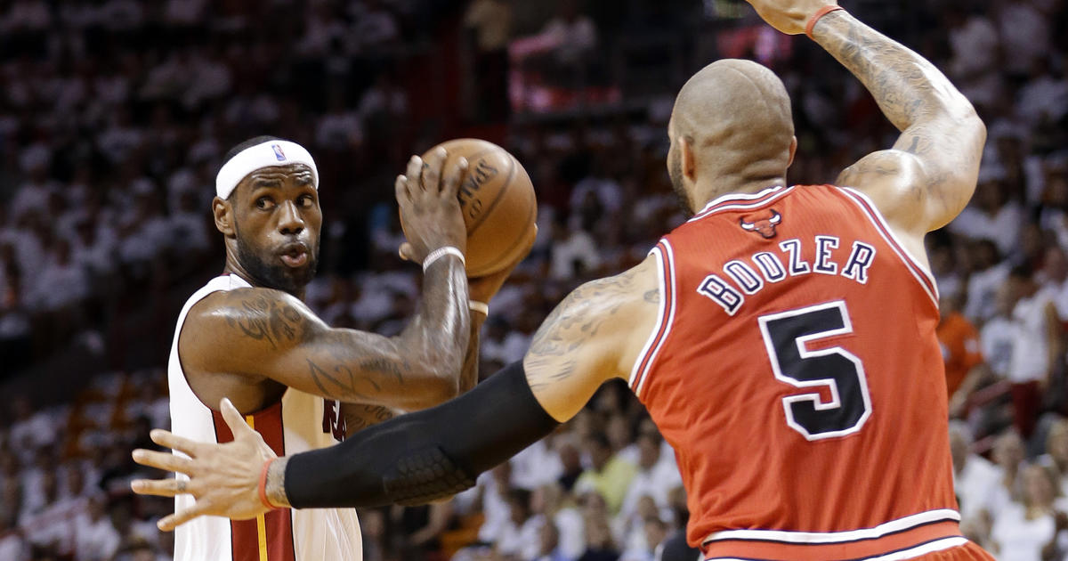 Heat beat Bulls, advance to Eastern Conference Finals - CBS News