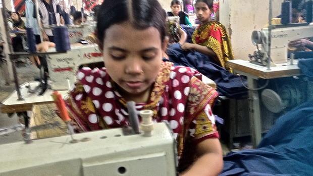 Inside a Bangladesh garment factory