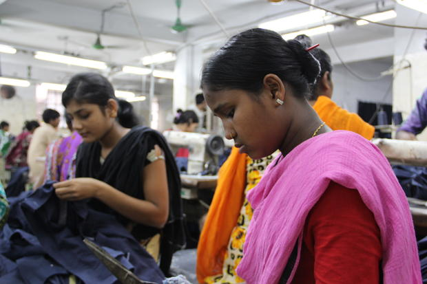 Inside a Bangladesh garment factory