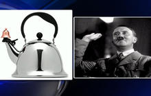 Does this tea kettle look like Hitler?