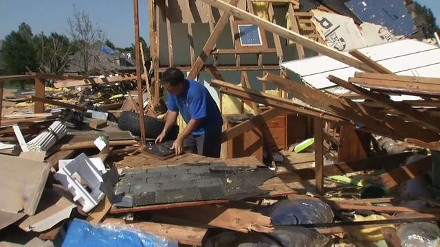 Doctors warn tornado clean-up could be harmful to health