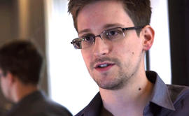 Edward Snowden, in a screengrab from a video shot in Hong Kong by the Guardian newspaper