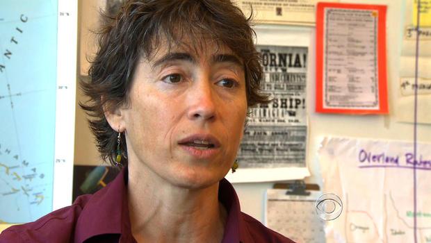 Teacher Barbara Wenger