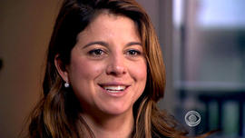 Evelyn Stevens talks to CBS News correspondent Ben Tracy.