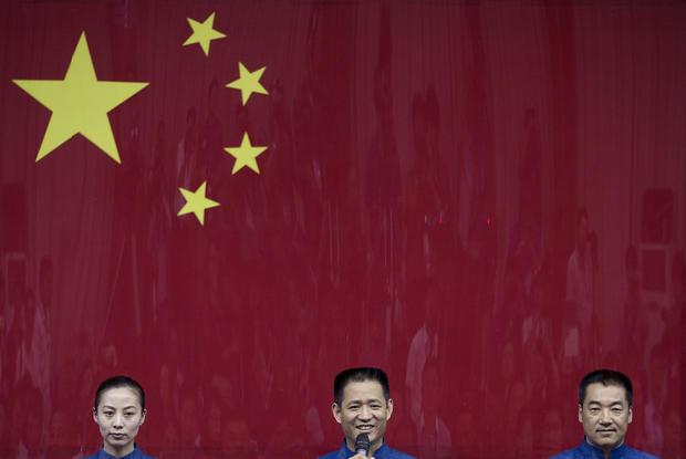 China blasts off