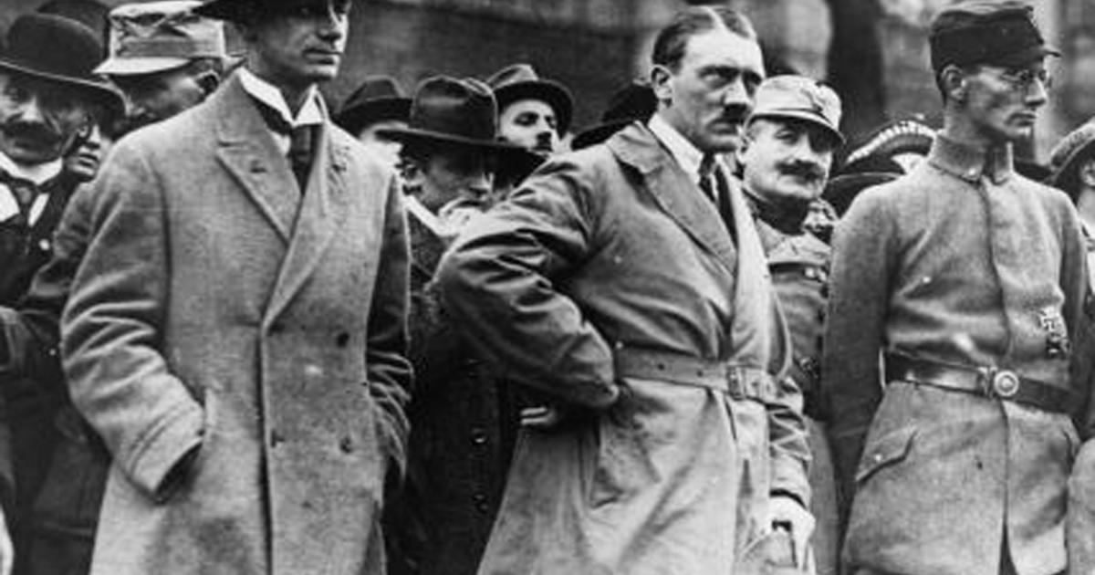 martin luther and adolf hitler