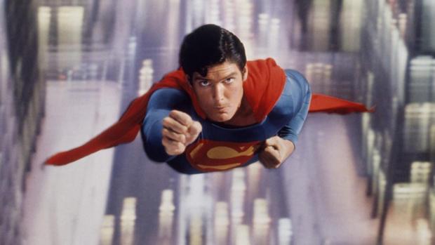 Superman on screen