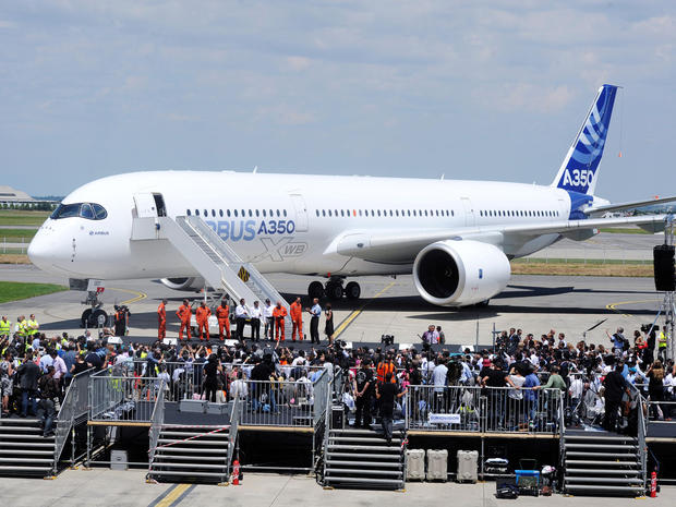 Maiden flight of the Airbus A350