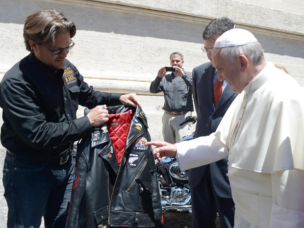 Rock star pope