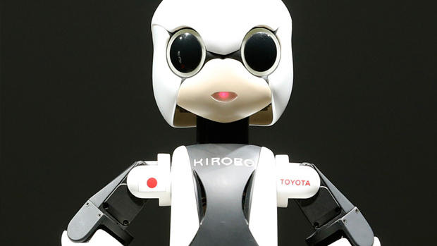 Japanese talking robot Kirobo