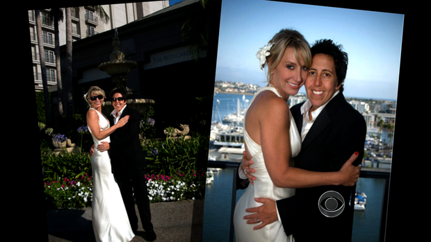 Pictures from Jennifer Post and Teri Kinne's wedding day in California. They said they'll make it official -- now that Prop 8 was overturned -- with a marriage certificate soon.