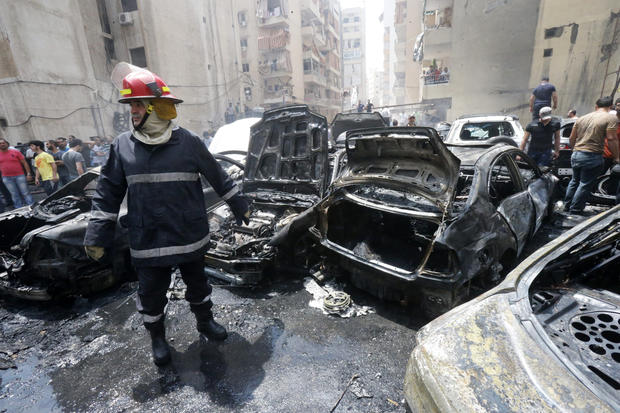 Car bomb devastates Beirut neighborhood