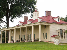 Washington's library will be located at his home on the Potomac River.