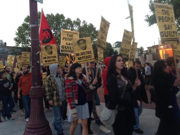 san francisco, protests, trayvon martin, george zimmerman